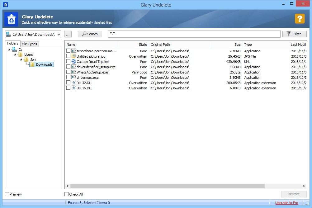 file restoration software 8