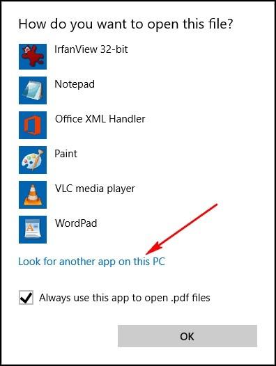 fix bad file association 3