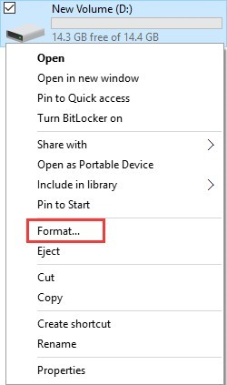 format 3ds sd card using file explorer 1