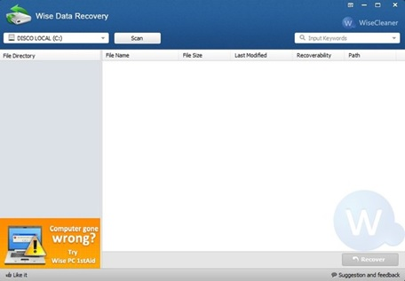 image wise data recovery 2
