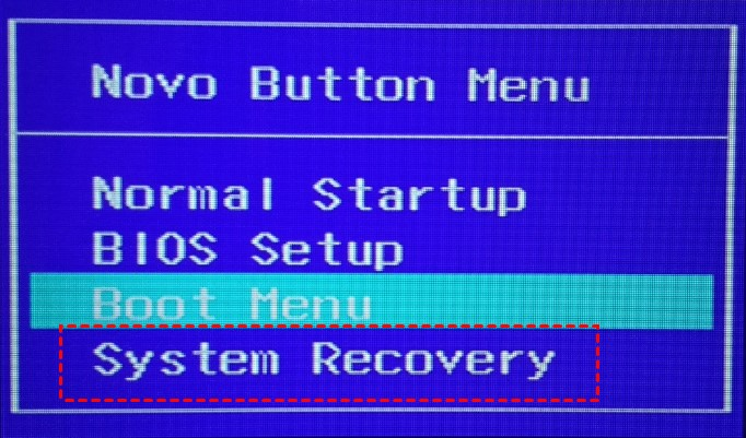 lenovo one key recovery 2