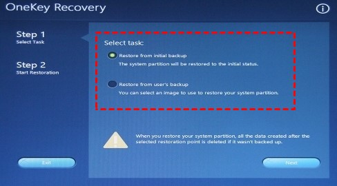 lenovo one key recovery 3