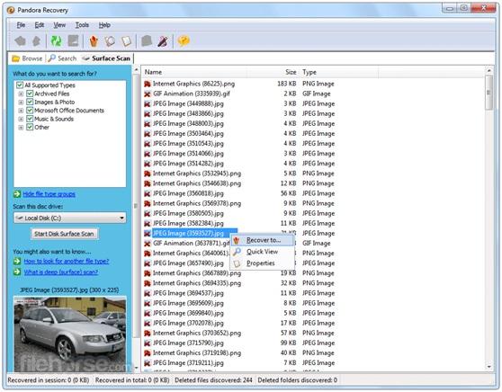 pandora dvd data recovery8
