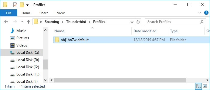 recover thunderbird email 7