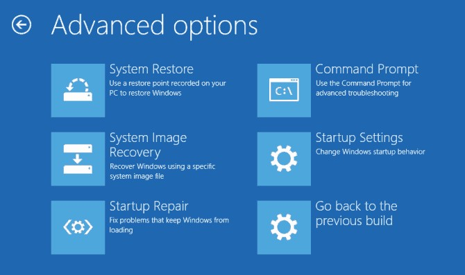 restore the boot sector code 1