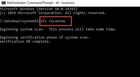 run sfc scan 1