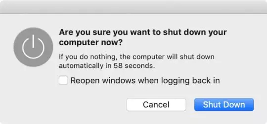 soft reboot your mac