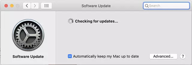 update to the latest MacOS version