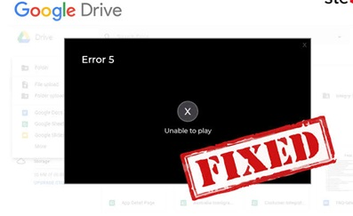 unable to play video error photo 1