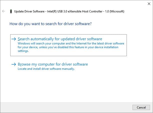 update hard drive driver