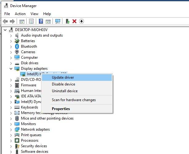 windows 10 black screen with cursor 5