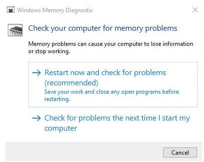 windows 10 blue screen memory management 2