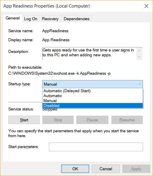 app readiness properties