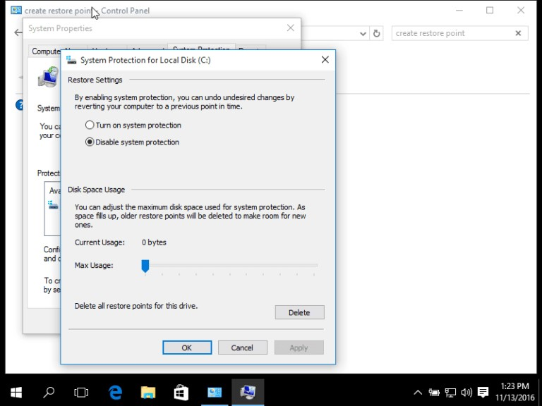 check hdd disk space 1