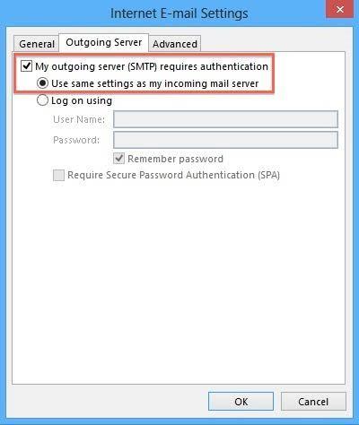 configure email server 3