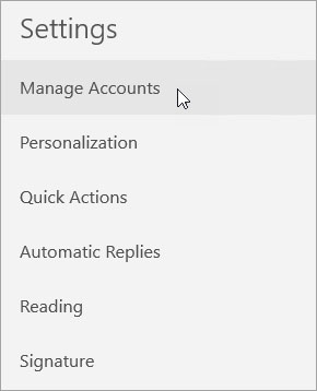 remove add email account 2