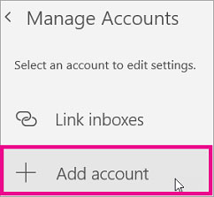 remove add email account 3
