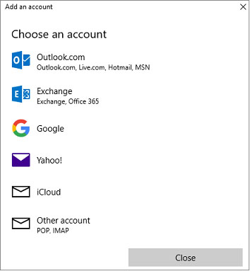 remove add email account 4