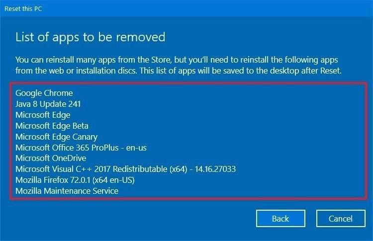 reset windows 10 4