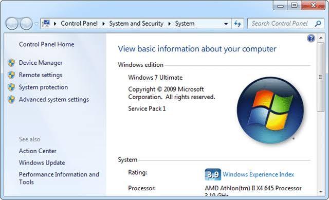 restore previous version windows 7 1