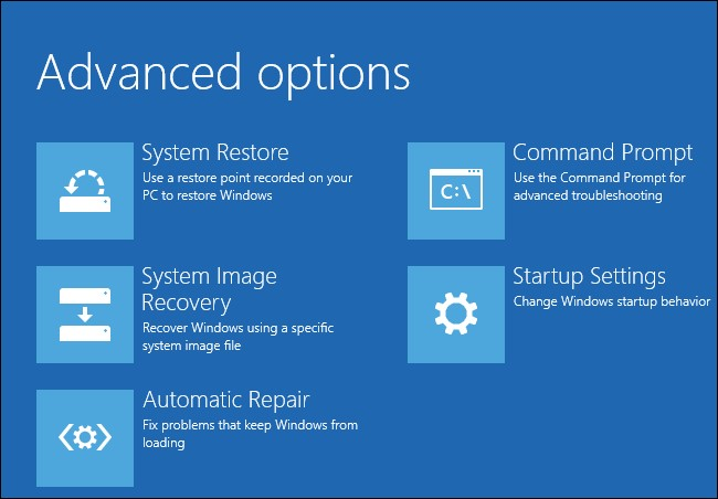 run automatic startup repair 4