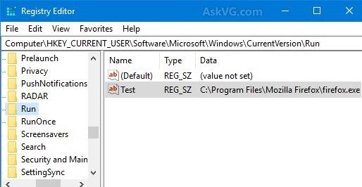 select run folder