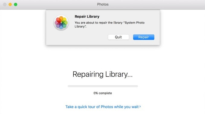 repair System Photo Library