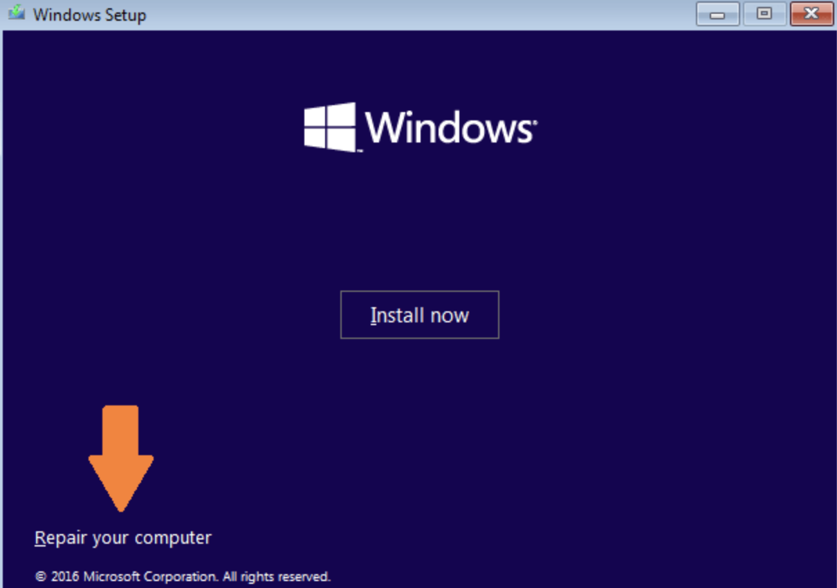 bootmgr repair your computer