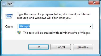 Load Temp Files Windows