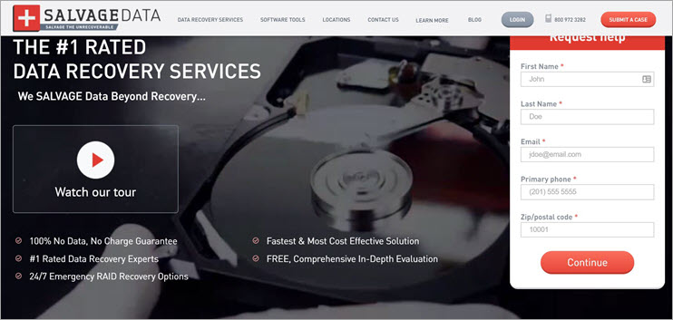 Salvage Data Recovery