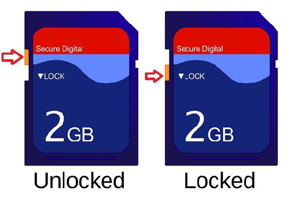 Lock SD Card