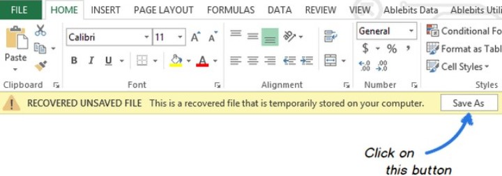 recover from temporary file 4