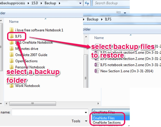 recover onenote from computer backup 3