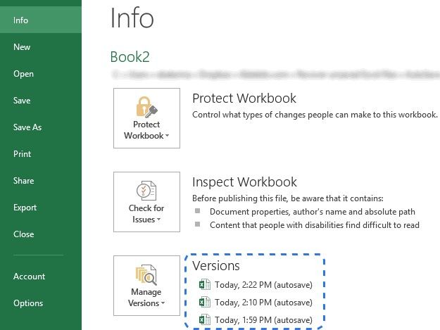recover windows 10 excel file 1