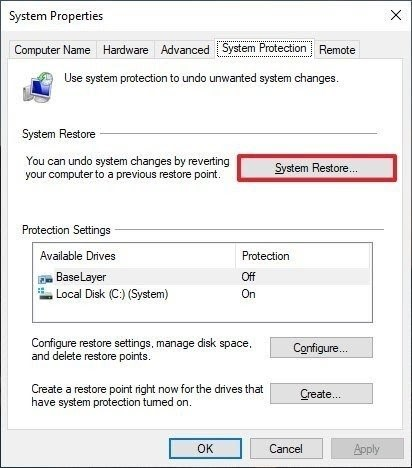restore computer 2