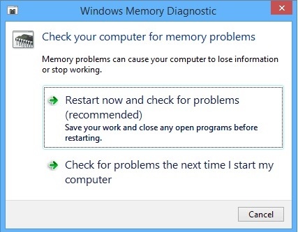 scan memory issues