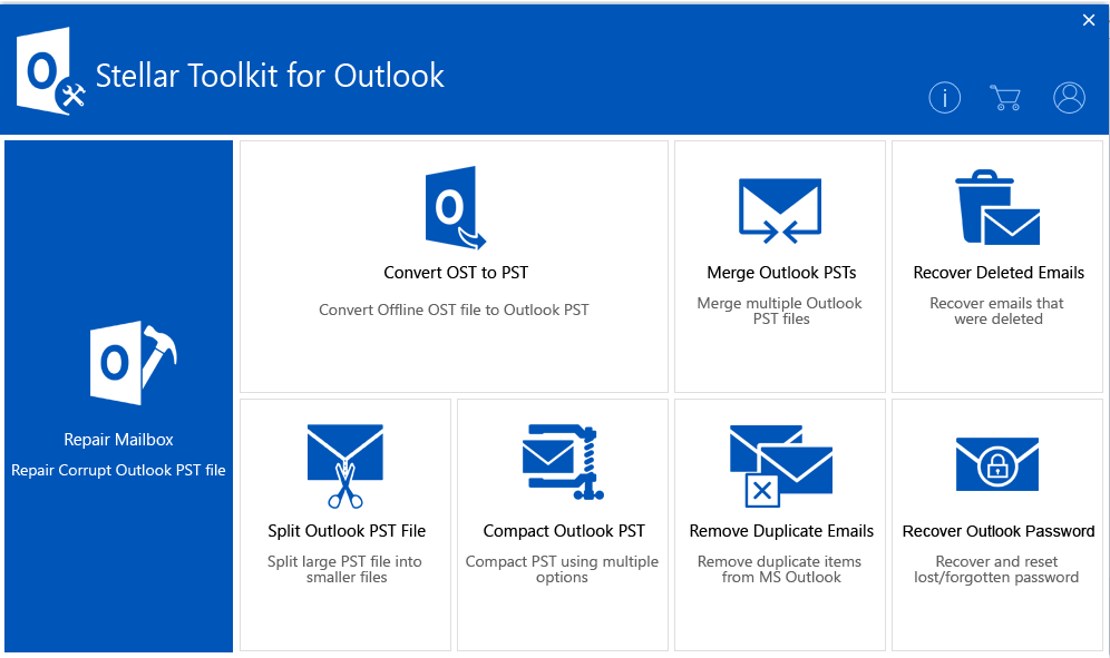 toolktit for outlook main