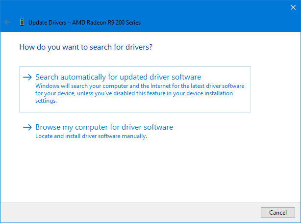 update drivers auto