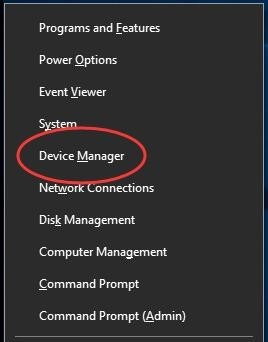 update drivers via device manager 1