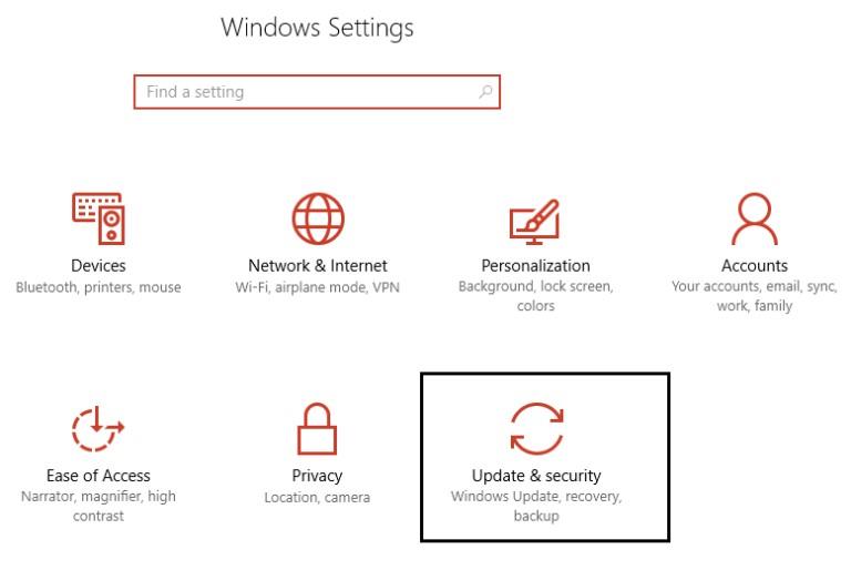 update windows os 1