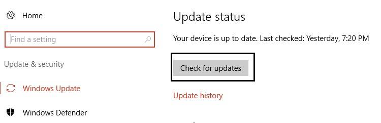 update windows os 2