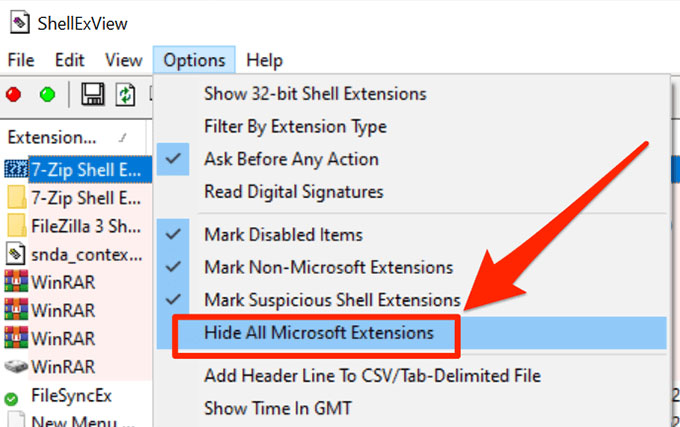 disable third party extensions 1
