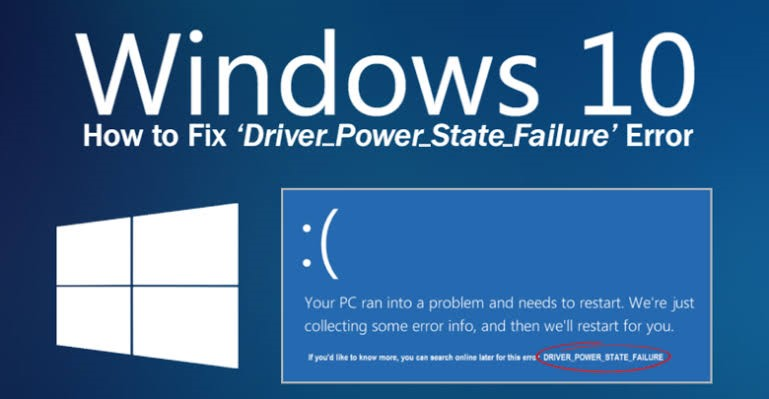driver power state failure error