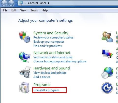 remove antivirus software 2