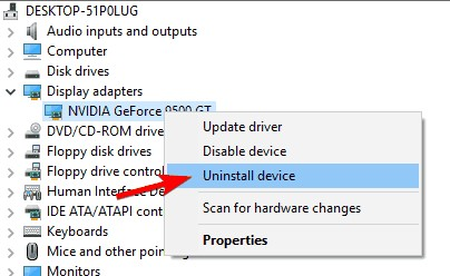 remove drivers in safe mode 4