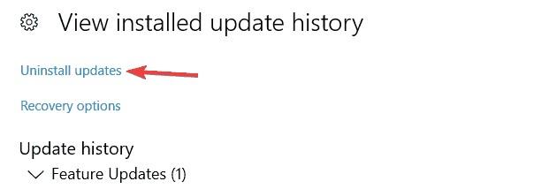 remove problematic updates 3