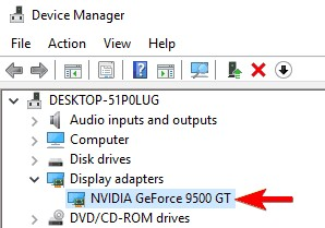 revert graphics card drivers 2