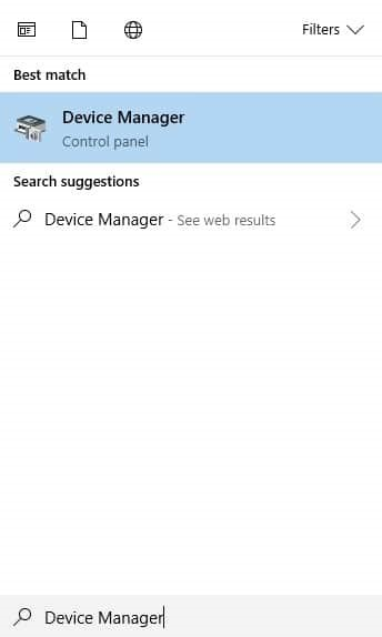 rollback updated device driver 1