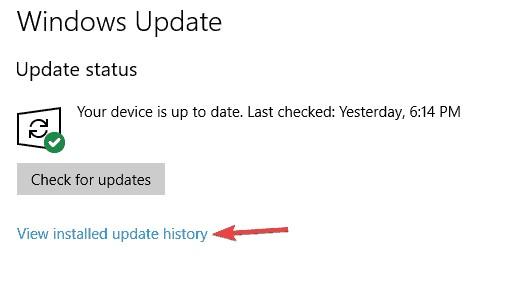 uninstall recent windows updates 1