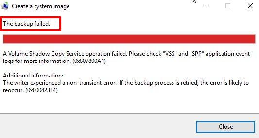 vss-error-operation-failed